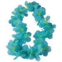 Flower Leis Blue/Green