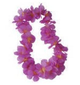 Flower Leis Purple/Gold