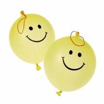 Punch Balloons Smile 1 dozen package