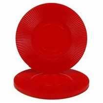 Poker Chips Red 100 pieces