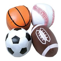 Sports Ball Vinyl Assorted