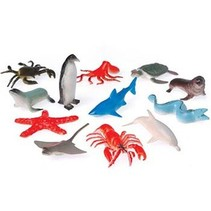 Sea Animals 12 piece package