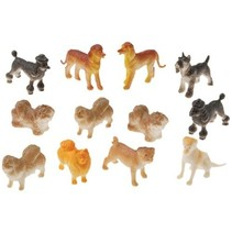Dog Figures 12 piece package