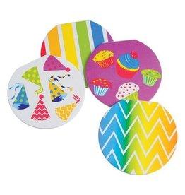 Rainbow Memo Pads 12 piece package