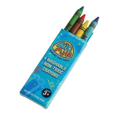 4 pk crayons 12 piece package