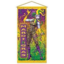 Mardi Gras Door/ Wall Panel