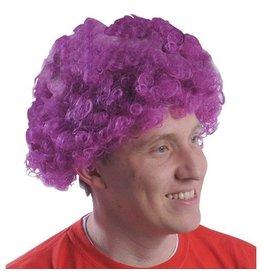 Purple Team Spirit Fro