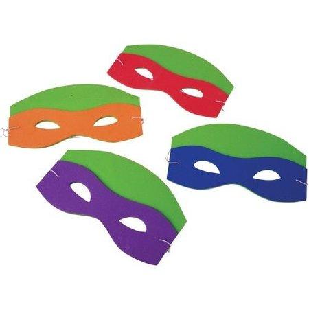 1 Dozen Foam Ninja Mask