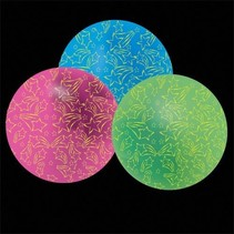 Inflatable Glow In Dark Beach Ball