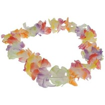 Multi Color Flower Lei