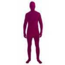 Disappearing Man Maroon Size 48