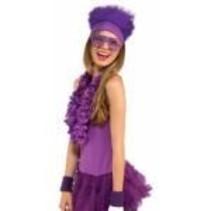 Fur Headband Purple