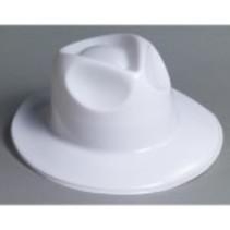 Fedora Plastic White