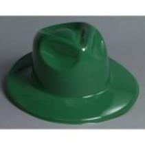 Fedora Plastic Green