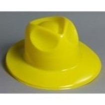 Fedora Plastic Yellow