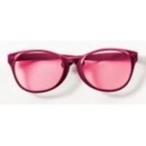 Jumbo Glasses Maroon