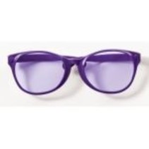 Jumbo Glasses Purple