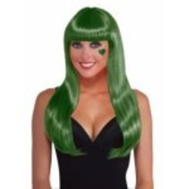 Long Wig Green