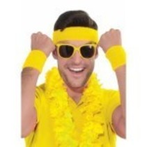 Wristbands & Headband Yellow