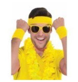 Wristbands & Headband Yellow