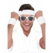 Wristbands & Headband White