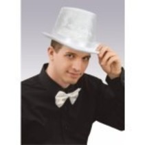 Deluxe Top Hat White