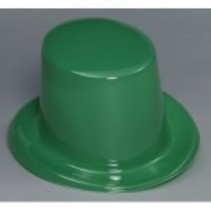Top Hat Plastic Green
