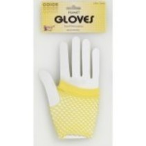 Fishnet Gloves Yellow