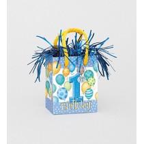 1st Birthday Balloon Weight