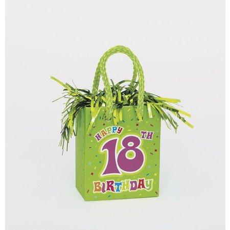 18th Birthday Balloon Weight
