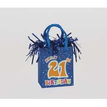 21st Birthday Balloon Weight