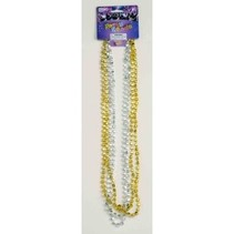 Mini Star Beads gold & silver 4 pack