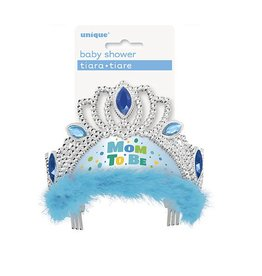 Mom To Be Tiara Blue