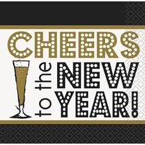 New Year Cocktail Napkin