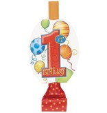 1st Birthday Balloon Blowouts 8 CT