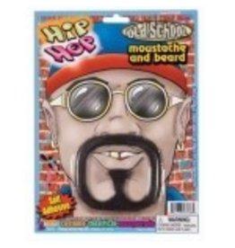 Hip Hop Moustache & Beard