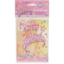 Princess Party Invitations 8 Ct