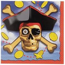 Pirate Party Beverage Napkin
