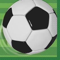 Soccer Beverage Napkin