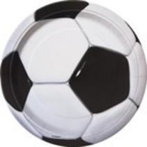 "Soccer Plates 9"""