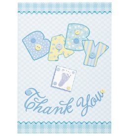 Baby Stitch Thank You Cards