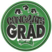 """Congrats Grad 9"""" Plates 20 CT"""
