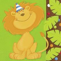 Jungle Party Luncheon Napkin