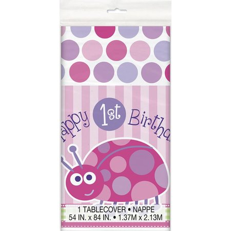 1st Birthday Lady Bug Table Cover