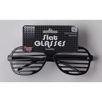 Slat Glasses Black