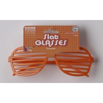 Slat Glasses Orange