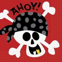 Pirate Beverage Napkin