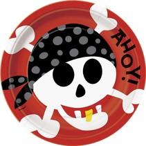 """Pirate Fun 9"""" Plate 8 CT"""