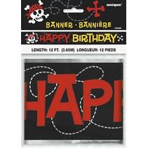 Pirate Fun Birthday Banner