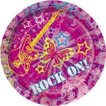 "Rock On 7"" Plate 8 CT"